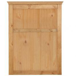 Cuier de perete din lemn de pin Støraa Suzie, maro