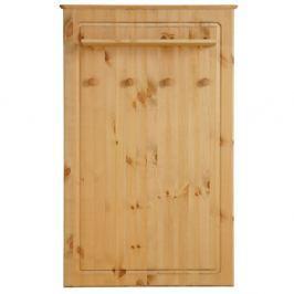Cuier de perete din lemn masiv de pin Støraa Amanda