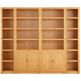 Dulap din lemn de pin Støraa Bailey, 254 x 213 cm