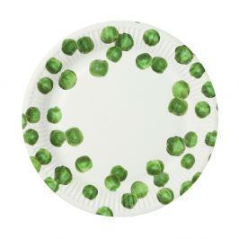 Set 8 farfurii de hârtie Talking Tables Sprout