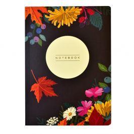 Agendă Portico Designs Autumn Floral Flexi, 160 file