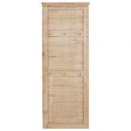 Cuier de perete din lemn masiv de pin Støraa Marilyn, crem