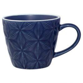 Cană din ceramică Green Gate Kallia, albastru închis