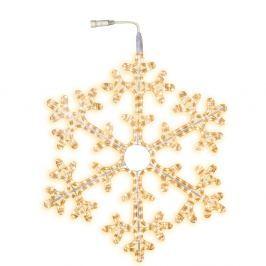 Decorațiune luminoasă Best Season Snowflake Chain, Ø 75 cm