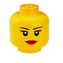 Figurină depozitare LEGO® Girl, Ø 16,3 cm
