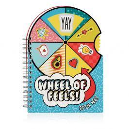 Carnețel NPW Wheel of Feels