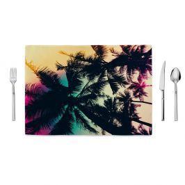 Suport farfurie Home de Bleu Tropical Palms, 35 x 49 cm