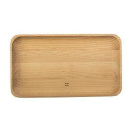 Tavă de lemn Sola Flow, 30 x 17 cm