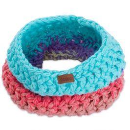 Eșarfă rotundă tricotată manual DOKE Candy