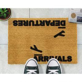 Preș Artsy Doormats Arrivals and Departures, 40 x 60 cm