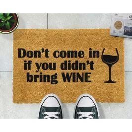 Preș Artsy Doormats Without Wine, 40 x 60 cm