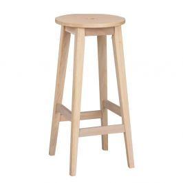 Scaun din lemn de stejar, mat, Folke Gorgona, înălțime 75 cm