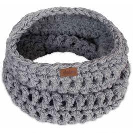 Eșarfă rotundă tricotată manual DOKE Light