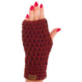 Mănuși tricotate manual DOKE Marsala