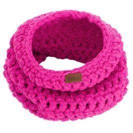 Eșarfă rotundă tricotată manual DOKE Peony