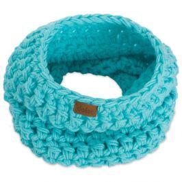 Eșarfă rotundă tricotată manual DOKE Mint