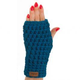 Mănuși tricotate manual DOKE Petrol