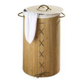 Coș din bambus pentru rufe Wenko Bina