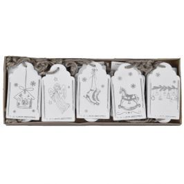 Set 20 etichete pentru cadouri Ego Dekor