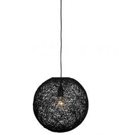 Lustră LABEL51 Twist, ⌀ 30 cm, negru