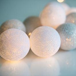 Șirag luminos Silver, 20 beculețe
