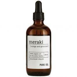 Ulei organic Meraki Orange and Geranium, 100 ml