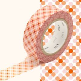Bandă decorativă Washi MT Masking Tape Stephanie, rolă 10 m