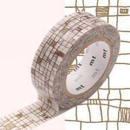Bandă decorativă Washi MT Masking Tape Valerie, rolă 10 m