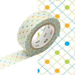 Bandă decorativă Washi MT Masking Tape Andree, rolă 10 m