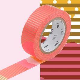 Bandă decorativă Washi MT Masking Tape Alais, rolă 10 m