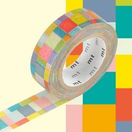 Bandă decorativă Washi MT Masking Tape Emmie, rolă 10 m
