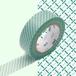 Bandă decorativă Washi MT Masking Tape Alaina, rolă 10 m