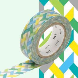 Bandă decorativă Washi MT Masking Tape Jacqui, rolă 10 m