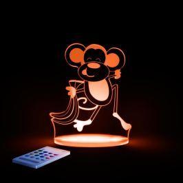 Lampă de veghe cu LED pentru copii Aloka Monkey