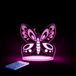 Lampă de veghe cu LED pentru copii Aloka Butterfly