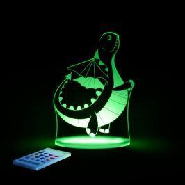 Lampă de veghe cu LED pentru copii Aloka Dinosaur