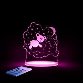 Lampă de veghe cu LED pentru copii Aloka Bear
