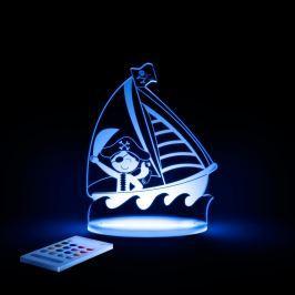 Lampă de veghe cu LED pentru copii Aloka Pirate
