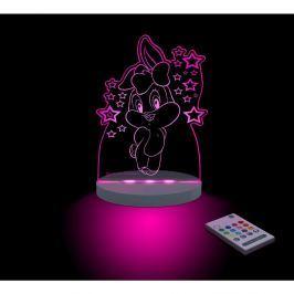 Lampă de veghe cu LED pentru copii Lola Bunny