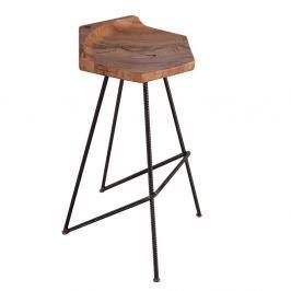 Scaun de bar din lemn de stejar FLAME furniture Inc. Ber-hex