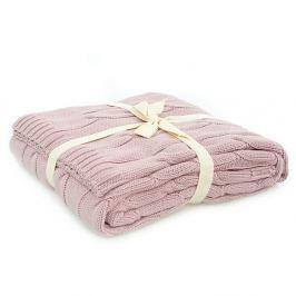 Pătură Homemania Couture, 130 x 170 cm, roz