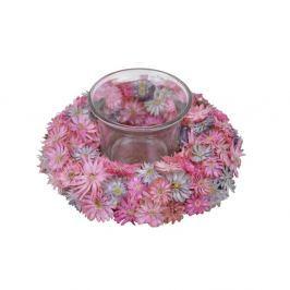 Decoraţiune lumânare Ego Dekor, ⌀ 12 cm, roz