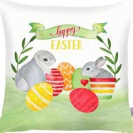 Față de pernă Apolena Easter Eggs, 43 x 43 cm