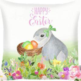 Față de pernă Apolena Happy Easter Eggs, 43 x 43 cm