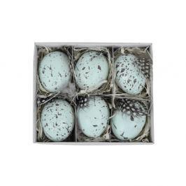 Set 6 ouă decorative Ego Dekor, 45 x 11,5 cm