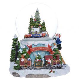 Glob cu zăpadă Ewax Snowy Train