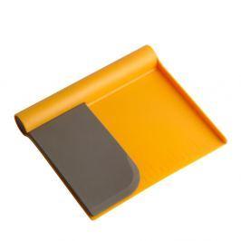 Tăietor aluat Steel Function Scraper, portocaliu