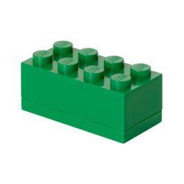 Cutie depozitare LEGO® Mini Box Green Lungo, verde
