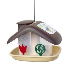 Căsuță pentru păsări Plastia Domek, maro