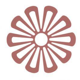 Suport din silicon pentru vase fierbinți Zone Flower, roșu
